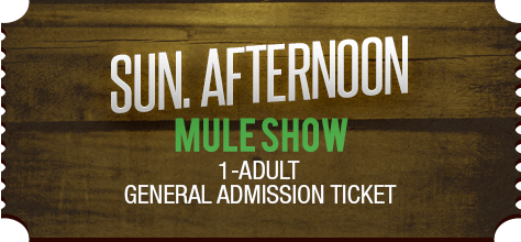 MuleDays_Ticket_Sun_MuleShow_Afternoon