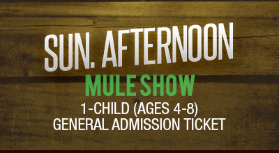 MuleDays_Ticket_Sun_MuleShow_Afternoon_Child
