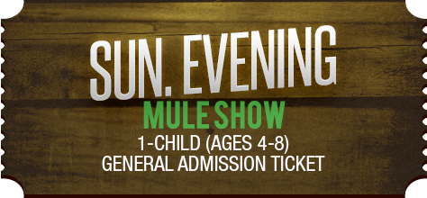 MuleDays_Ticket_Sun_MuleShow_Eve_Child