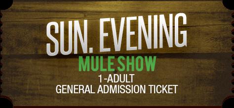 MuleDays_Ticket_Sun_MuleShow_Evening