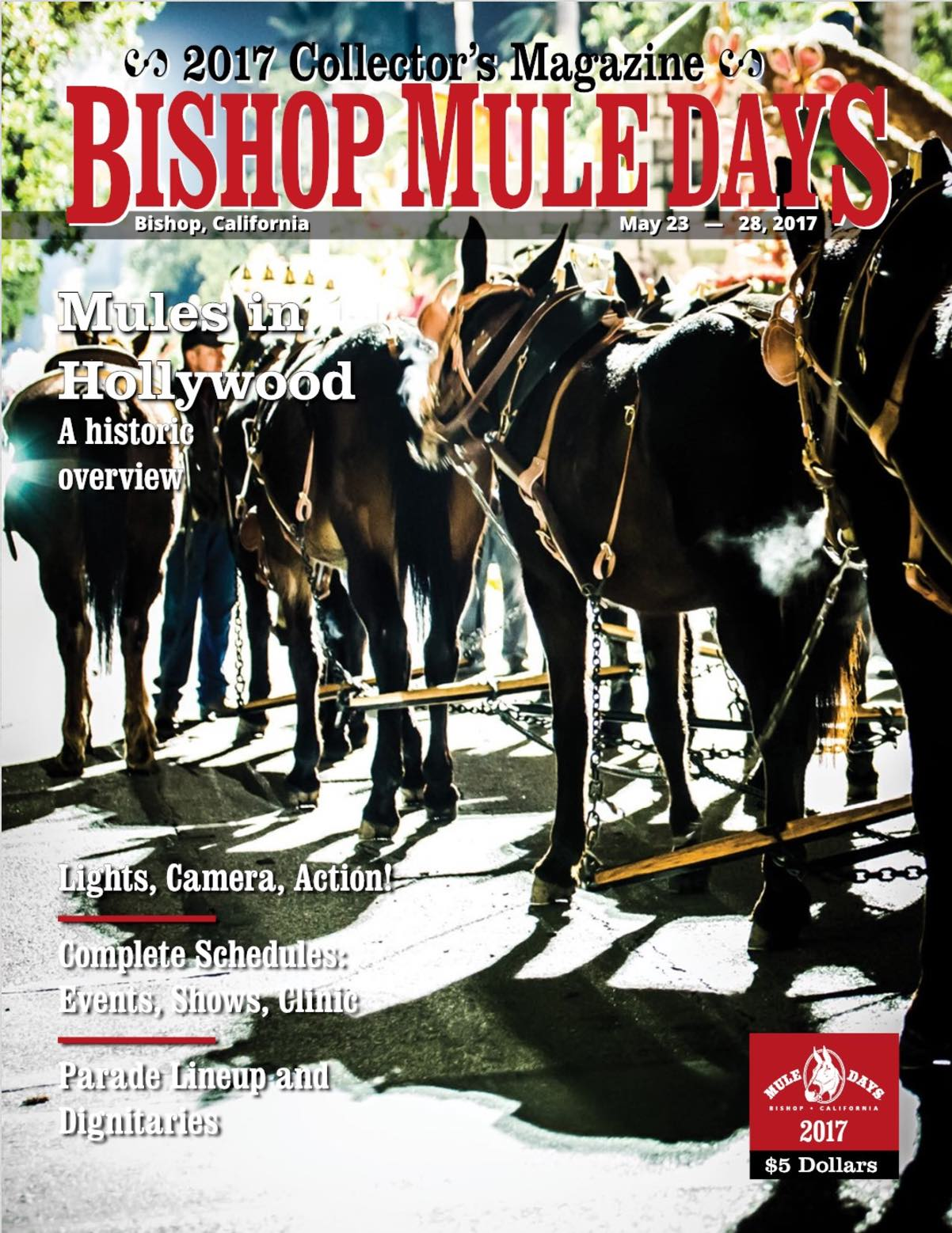 Click here to view a sample of the 2017 Mule Days Collector's Magazine.