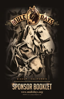Mule Days Sponsor Booklet